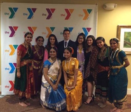 UNYC Dallas Founder, Pierce Lowary at the YMCA Dallas Model UN Event