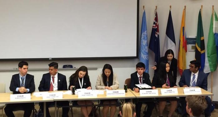 YMCA Model UN Closing Ceremony