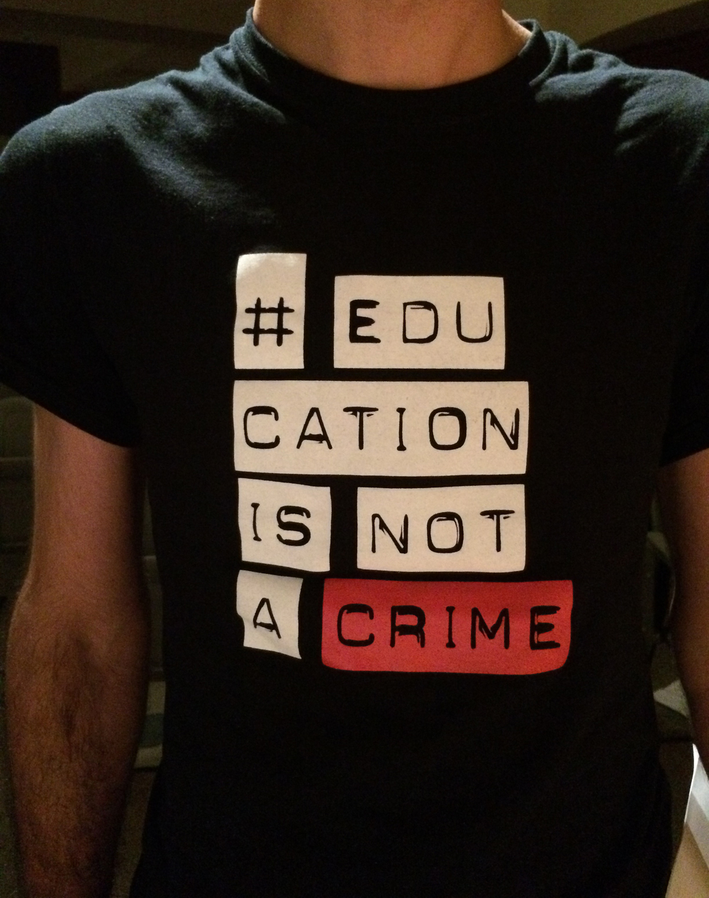 #educationisnotacrime