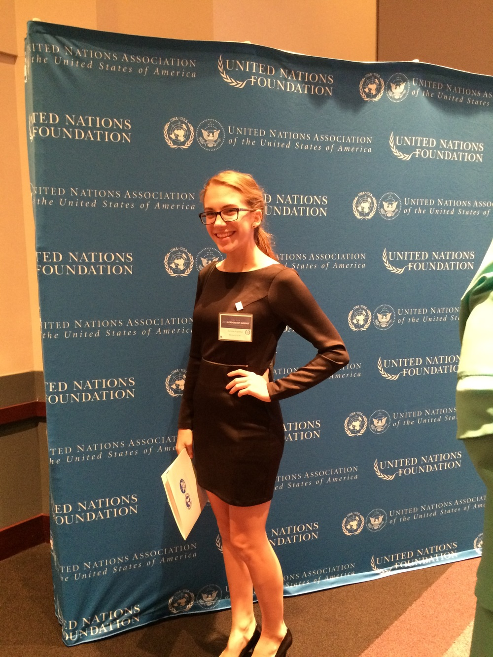 Our hopeful next UNYC - Nashville Chapter president, Summer Kapanka