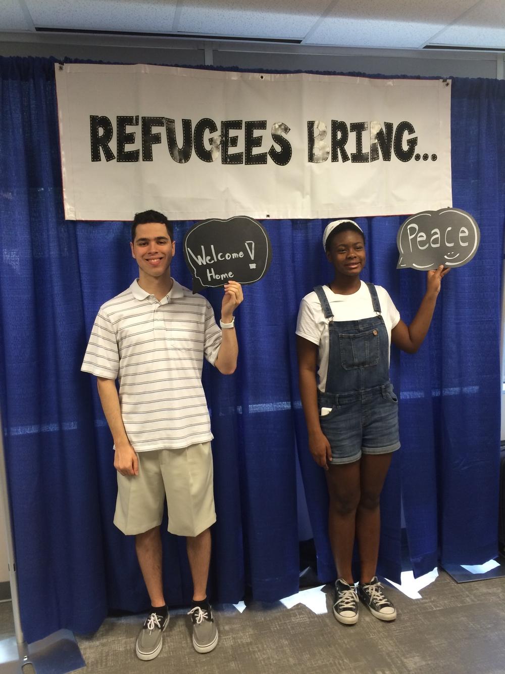 World Refugee Day with UNYC member volunteer Emi Adebayo