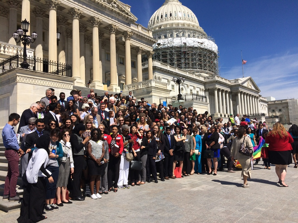 UNA-USA day of advocacy on Capitol Hill