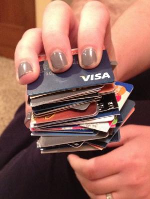 No more cards