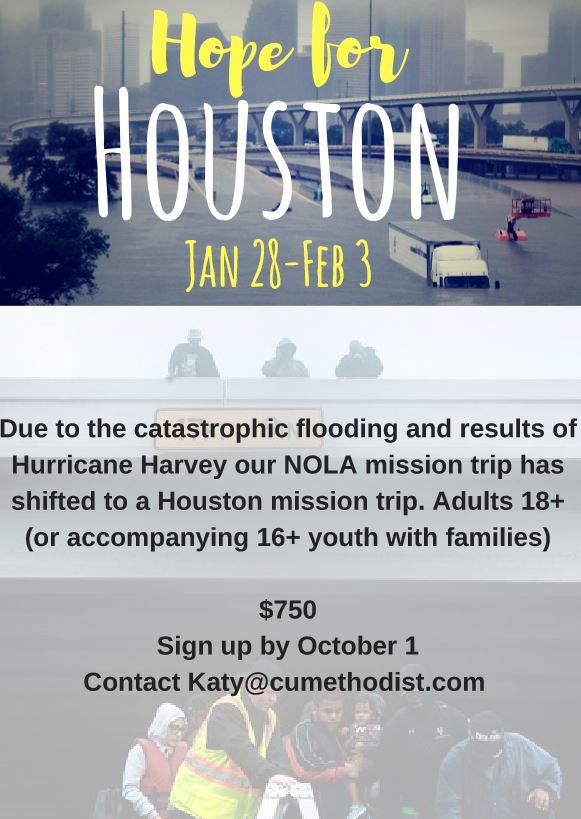 Hope for Houston — Christ United Methodist Church