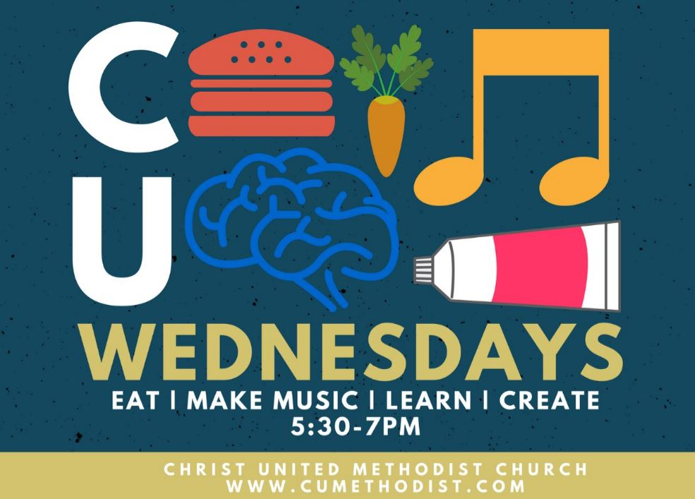 Join us for some summer fellowship and fun Wednesday night! We will gather in the commons and enjoy a meal together!
