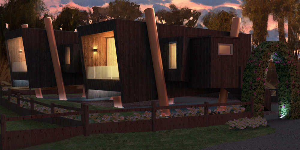 TWO NEW LUXURY STUDIO LODGES - Click to learn more...