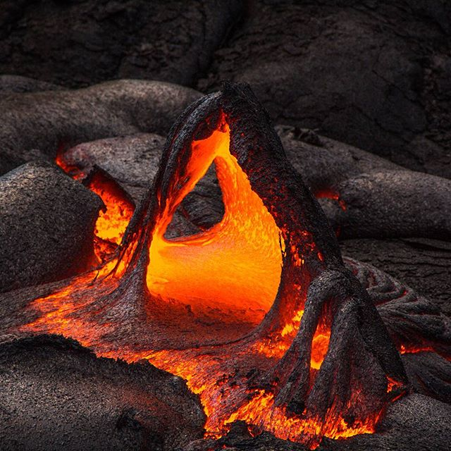 Lava arch at 2016 Kalapana lava flow,  Hawaii.  #intlandrea#travel #travelgram#OneSmallRock#mytravelgram #natgeo#worlderlust #hawaii #lava #kalapana #hike #instablishment#slcimages#adventure#backpacking#tourism#ventureout#neverstopexploring #nature #travelphunIotography #igtravel #thrillseeker #travel#adventuretravel#natgeoinfo#SoulTravelers  @geo_tag @yourworldgallery @theimagereview @thephotosociety @hawaiimagazine