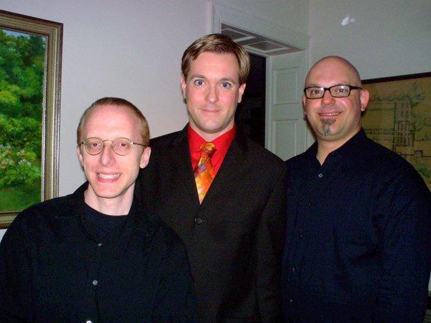 Ed Goldschneider  ,  Morgan Sills  and  Steve Millhouse  .