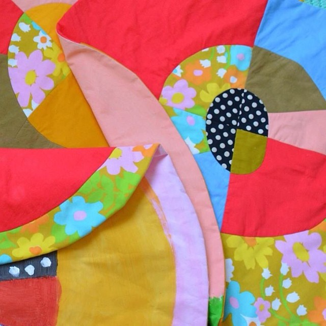 Our first opening of the year is  Friday, 4/18. Mariah Gillespie will be showing her quilted wall pieces. Come by and check it out!