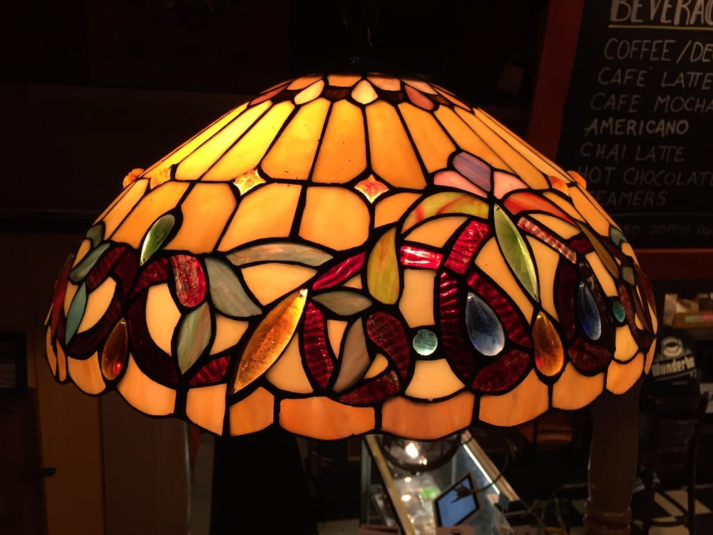 Like our Tiffany style lamps? We have three for sale!