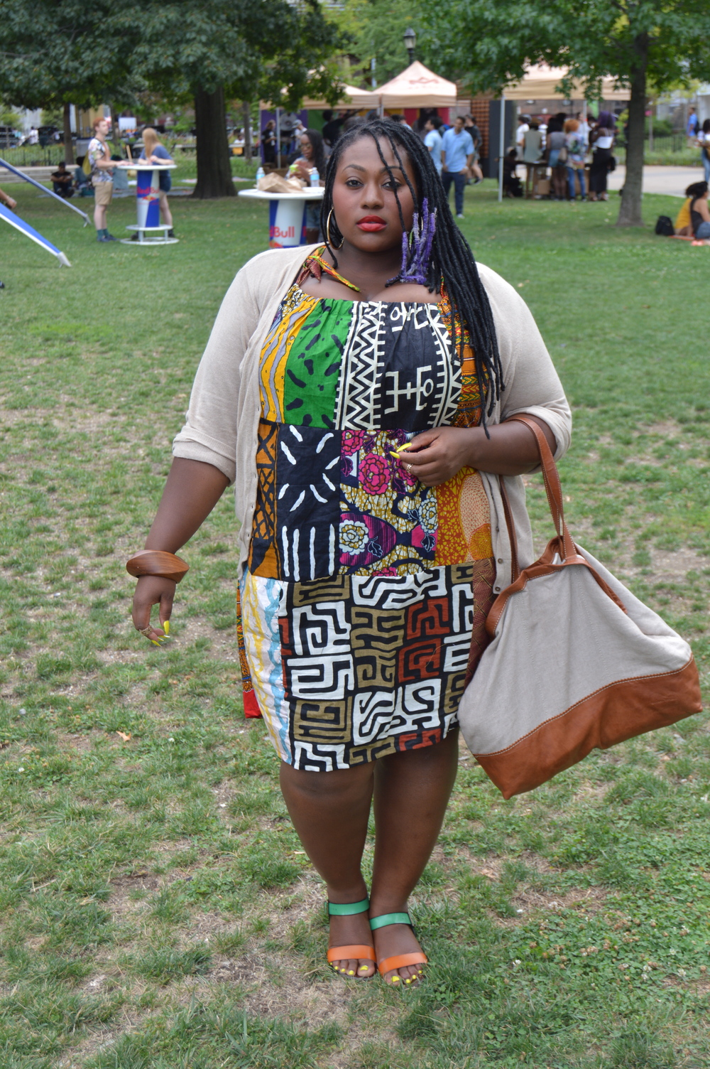 My look for Afropunk..Do you like?