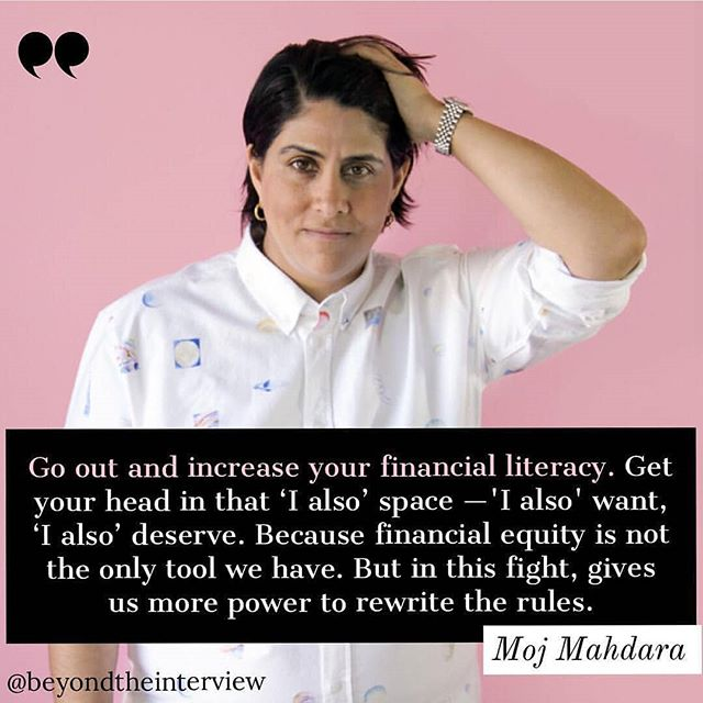 """Yes, women have spearheaded lots of movements, but they should consider leveling the playing field in all arenas as well, hence the 'also.' At the@makerswomenconference,#BeautyconCEO#MojMahdarasaid '""""After 'Me Too' and after TIME'S UP, for me it's 'I also.' I want generational wealth. I want investments and opportunity. I want the opportunity to fail — and to try again. I want to live shame-free, entitled to my place in the world as an entrepreneur."""" ... ... ... #makersconference #equalopportunity#womenempwerment #entrepreneur #financialliteracy#womeninbusiness #marketing #publicrelations #wealthbuilding #wealth #beauty"""
