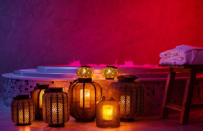 Interieurfotograaf iso800.be Sauna Relaxy sfeerbeelden