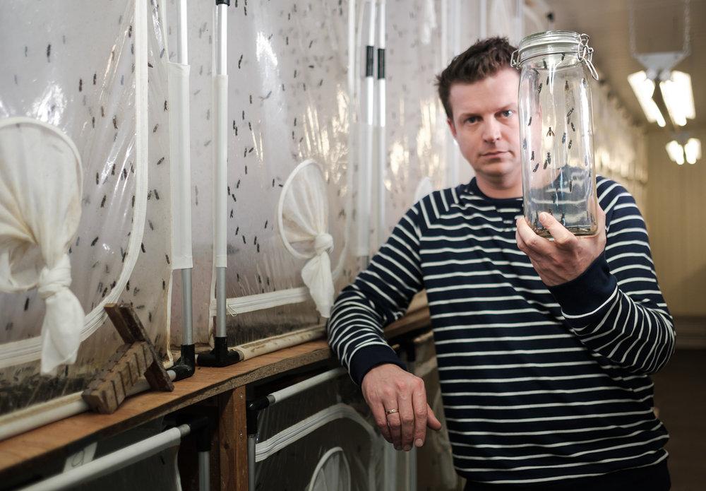 Bedrijfsreportage Millibeter iso800.be portret Johan Jacobs