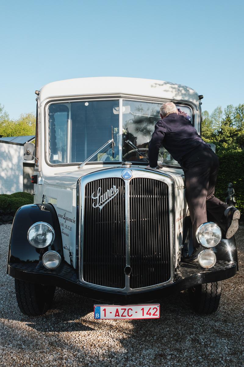 huwelijksfotograaf van Birgit & Christophe voorbereidingen bruid