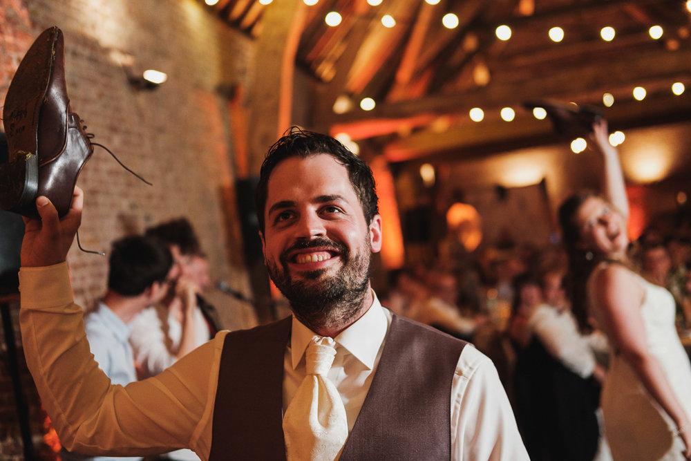 huwelijksfotograaf van Birgit & Christophe receptie avondfeest e