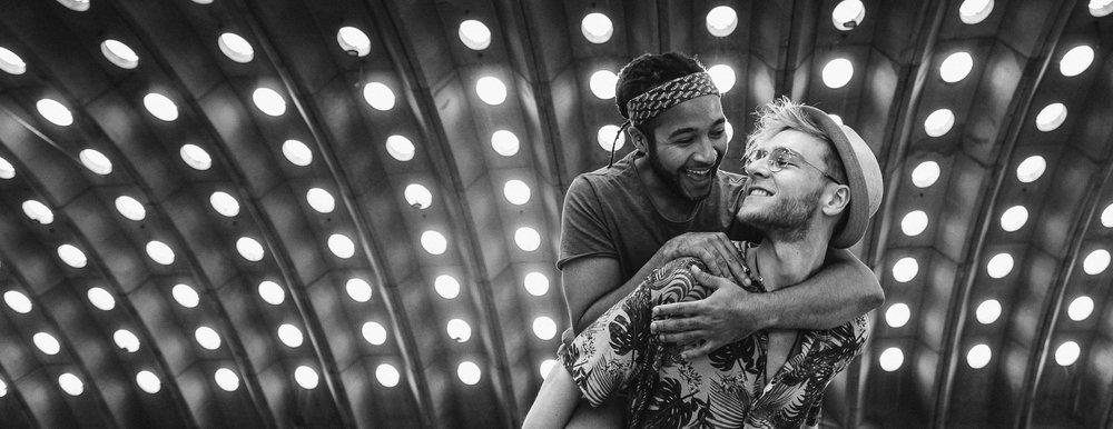 Man, woman, straight or gay: we just LOVE couple who are foolishly in love #fuji #fujixt2 #groom #samesex #samesexwedding #wedding #weddingday #bw #blackandwhite #lights #light #weddingphoto #weddingphotography #weddingphotographer #weddingstyle #iso800 #love #hugs #kisses #mywed #fearless #photoshoot #instawed #instalove #instalike #instagood #picoftheday #architecture #gaycouple #gaywedding