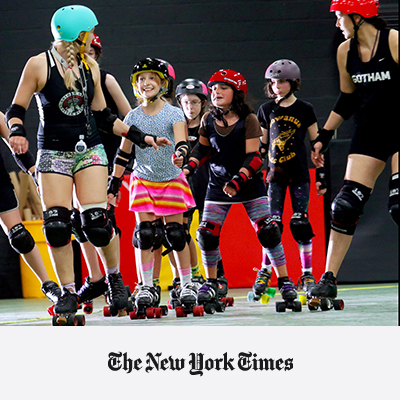 Sisterhood on Wheels: Bushwick's Rugged Roller Derby Girls