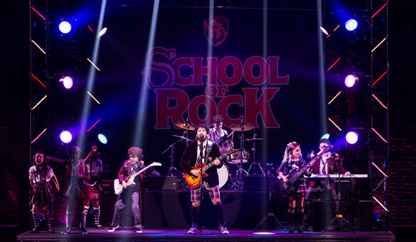 Broadway's SCHOOL OF ROCK! (Photo by Matthew Murphy)
