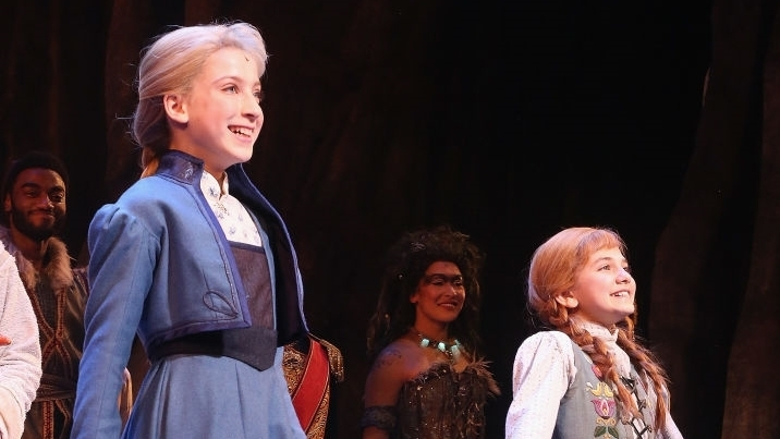 Ayla Schwartz started performing with KOTA in 2015, and went on to do six of our productions. She originated and is currently playing the role of Young Elsa in the newest Disney musical, FROZEN, on Broadway.