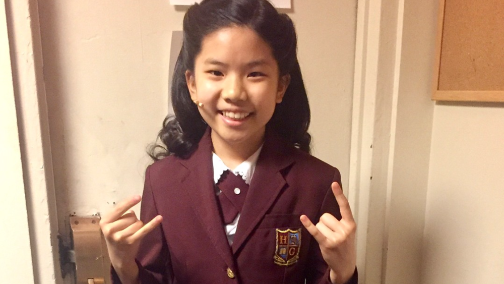Ellie Kim made her theater debut with KOTA, and has now been a Swing in Broadway's SCHOOL OF ROCK for the past year and a half, performing 7 different tracks.