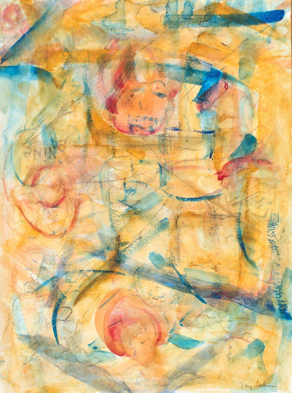 Circe, watercolor