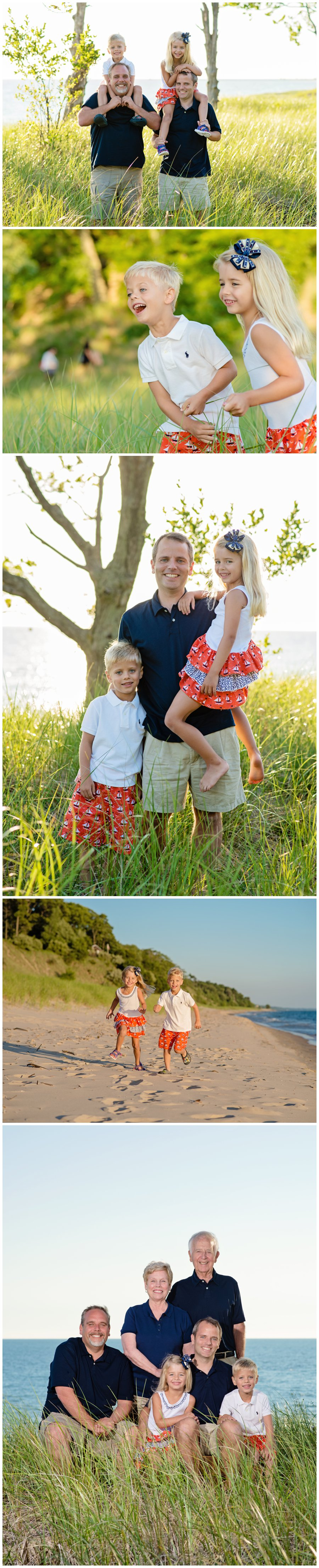 family,portrait,photography,beach,muskegon,west michigan,pere marquette,sunset