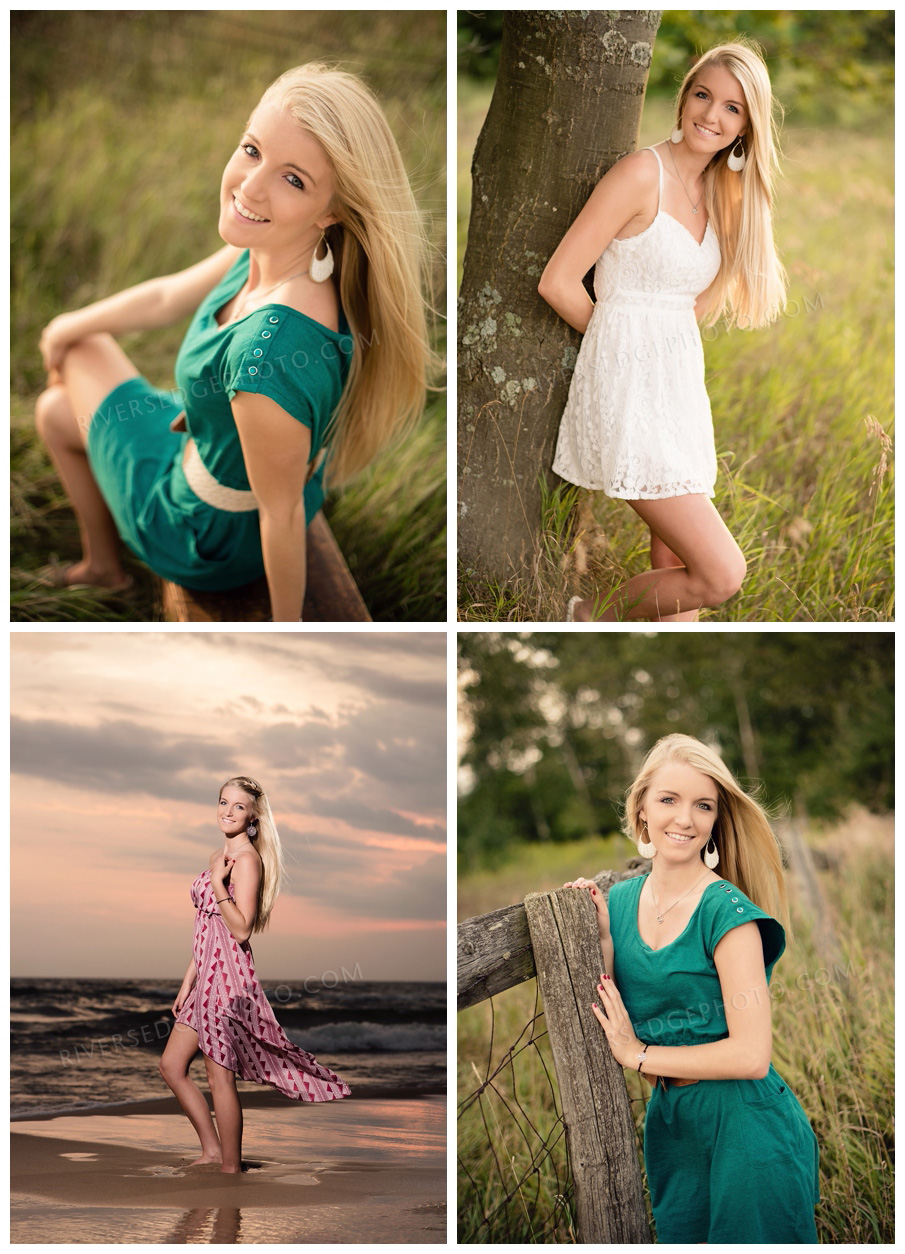 Senior photography north muskegon michigan