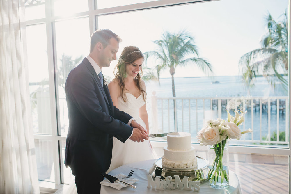 - The reception