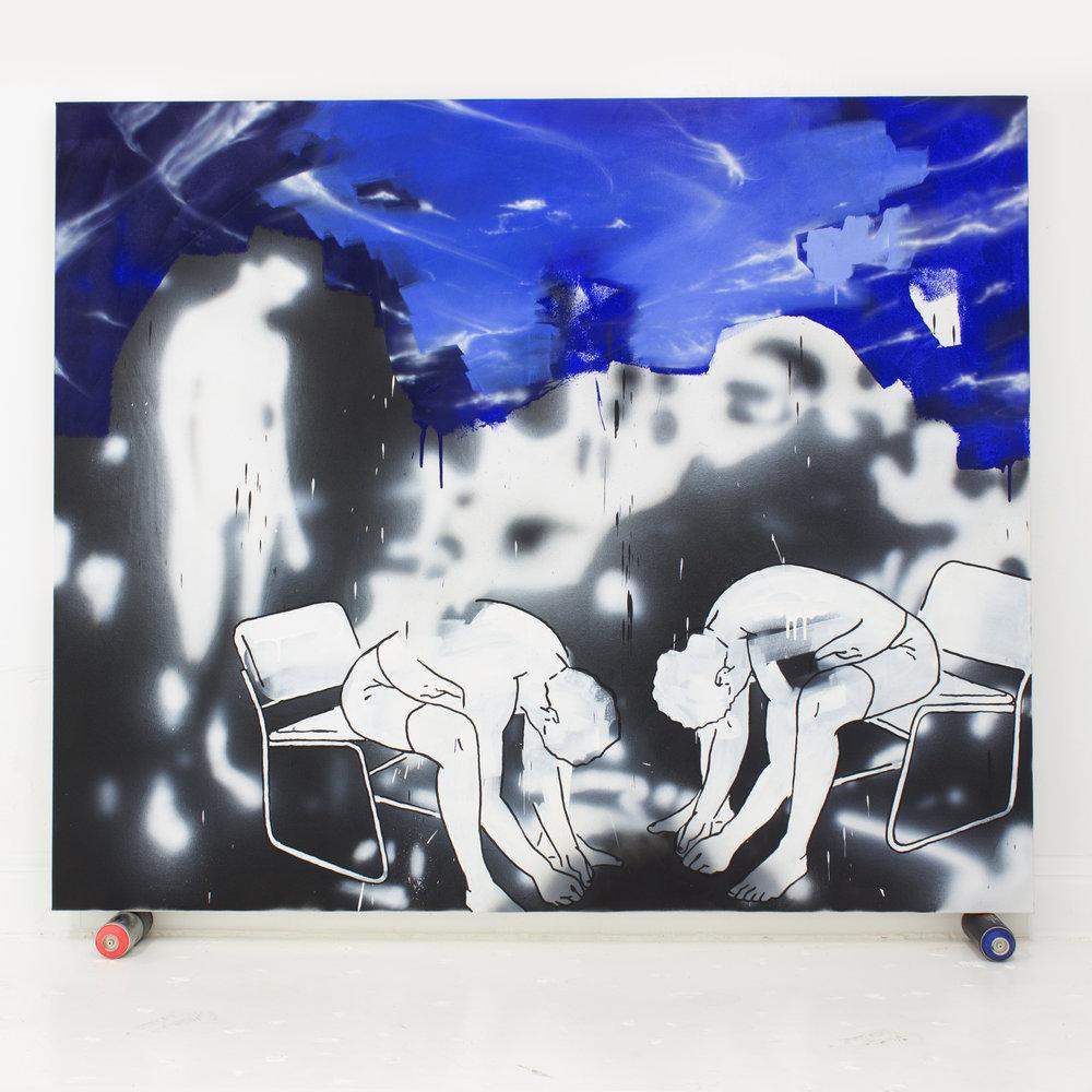 Mauro C Martinez Threshers Oil Painting.jpg