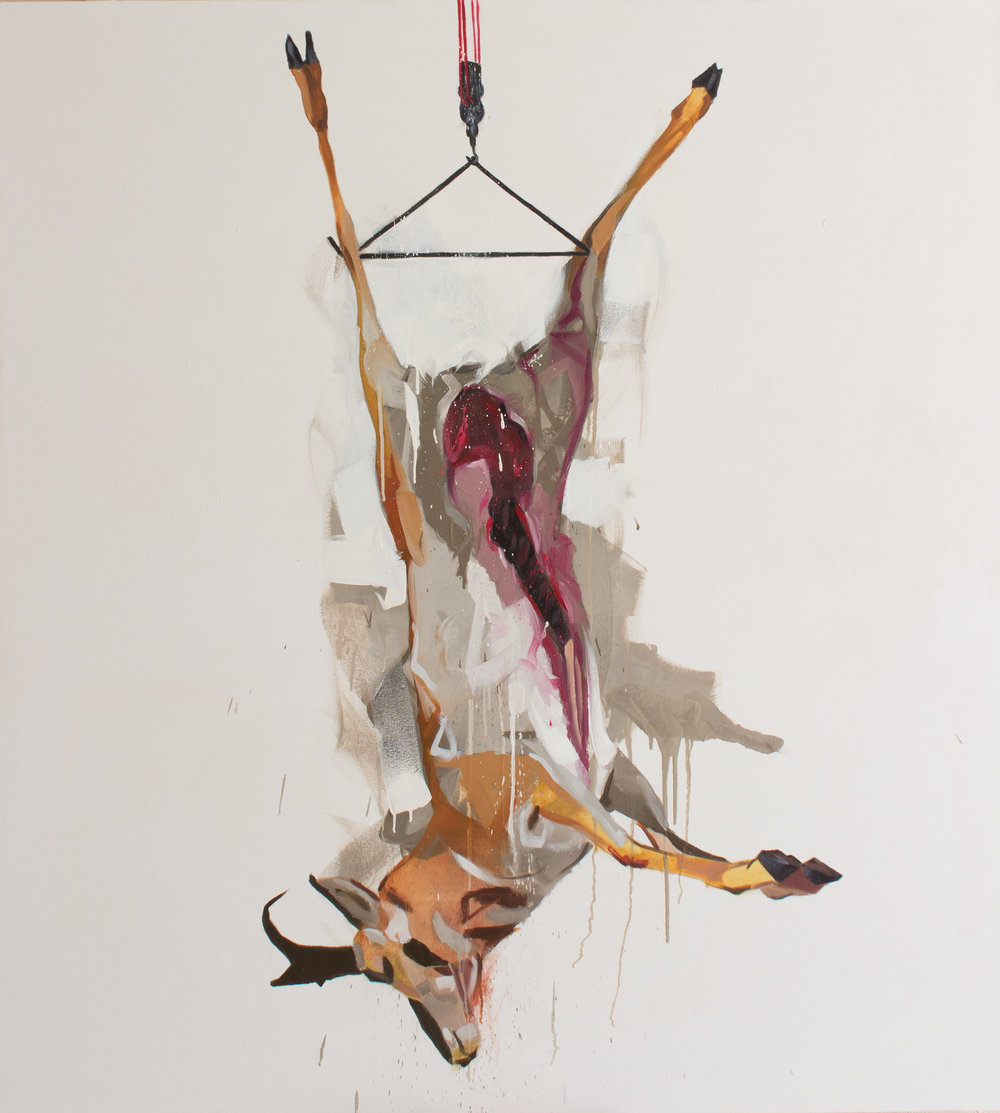 Mauro C Martinez Hoist Carcass Oil Painting.jpg