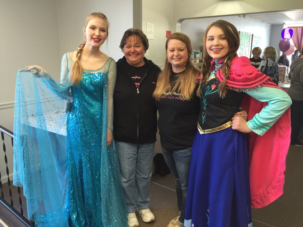 Even Anna and Elsa came!