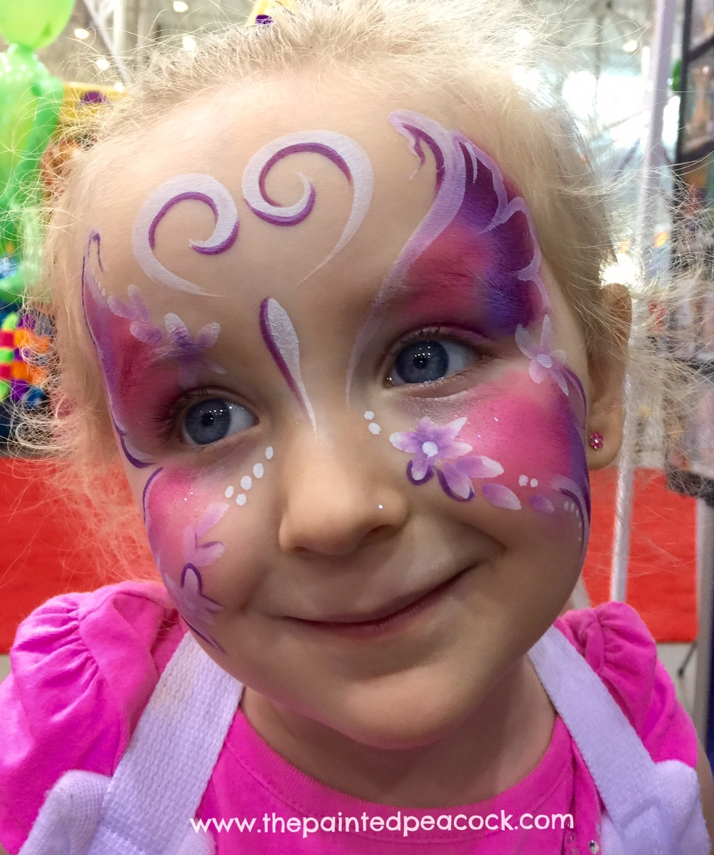#butterfly-face-paint