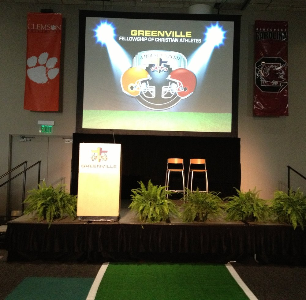 Greenville FCA Banquet