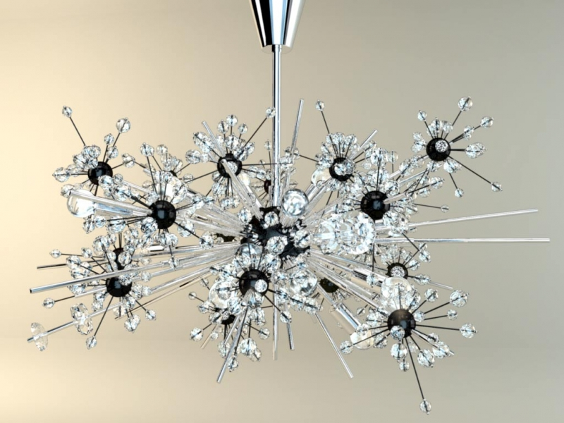 "A Metropolitan Opera ""Sputnik"" chandelier: an iconic NYC symbol in which art and science and singing come together"