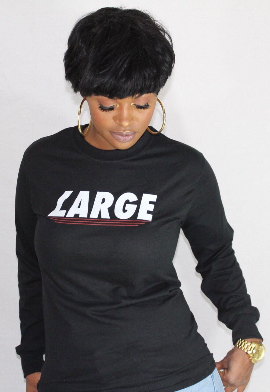 LARGE Emphasis Longsleeve Tee