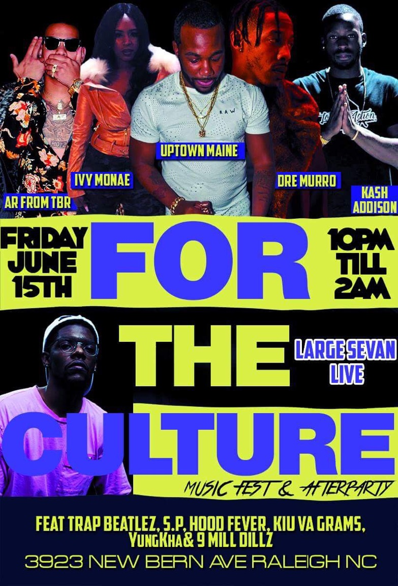 #ForTheCulture after-party flyer