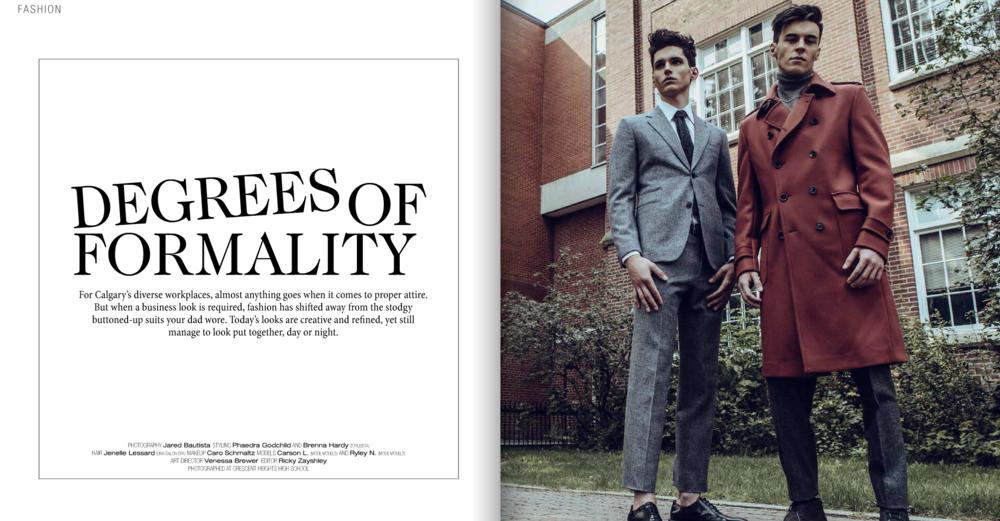 AVENUE Magazine, November 2015