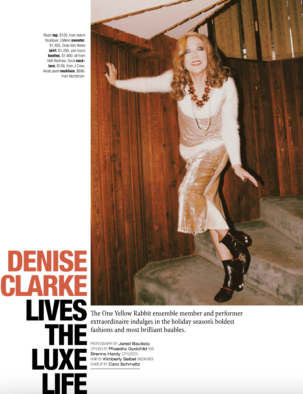 Avenue Magazine, December 2016