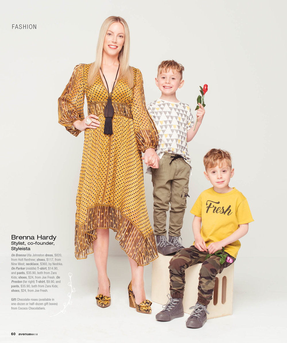 Stylish Moms - Avenue Magazine, May 2018