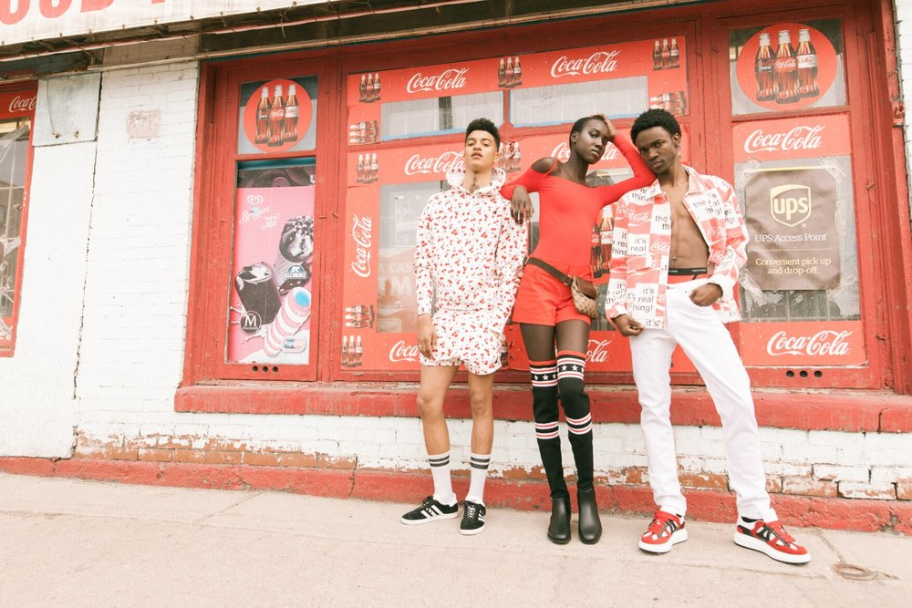 FREQ Magazine  Clothing: Saks + UO  Photographer: Jared B  Model: Sasha, Nya & Ryan