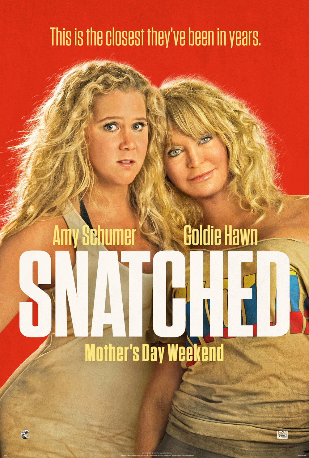 SNATCHED  R   12:452:45  4:457:20 9:40  Adult Comedy ‧ 1h 31m
