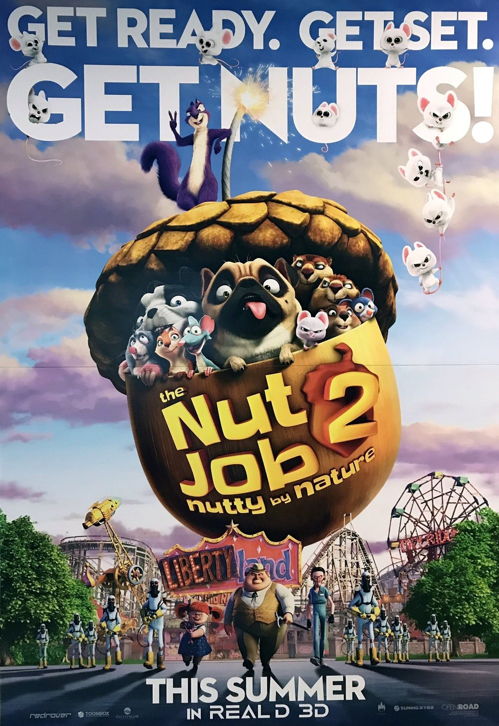 THE NUT JOB 2: NUTTY BY NATURE PG   12:45pm2:45pm4:45pm7:15pm9:30pm  Family / Animated ‧ 1h 31m