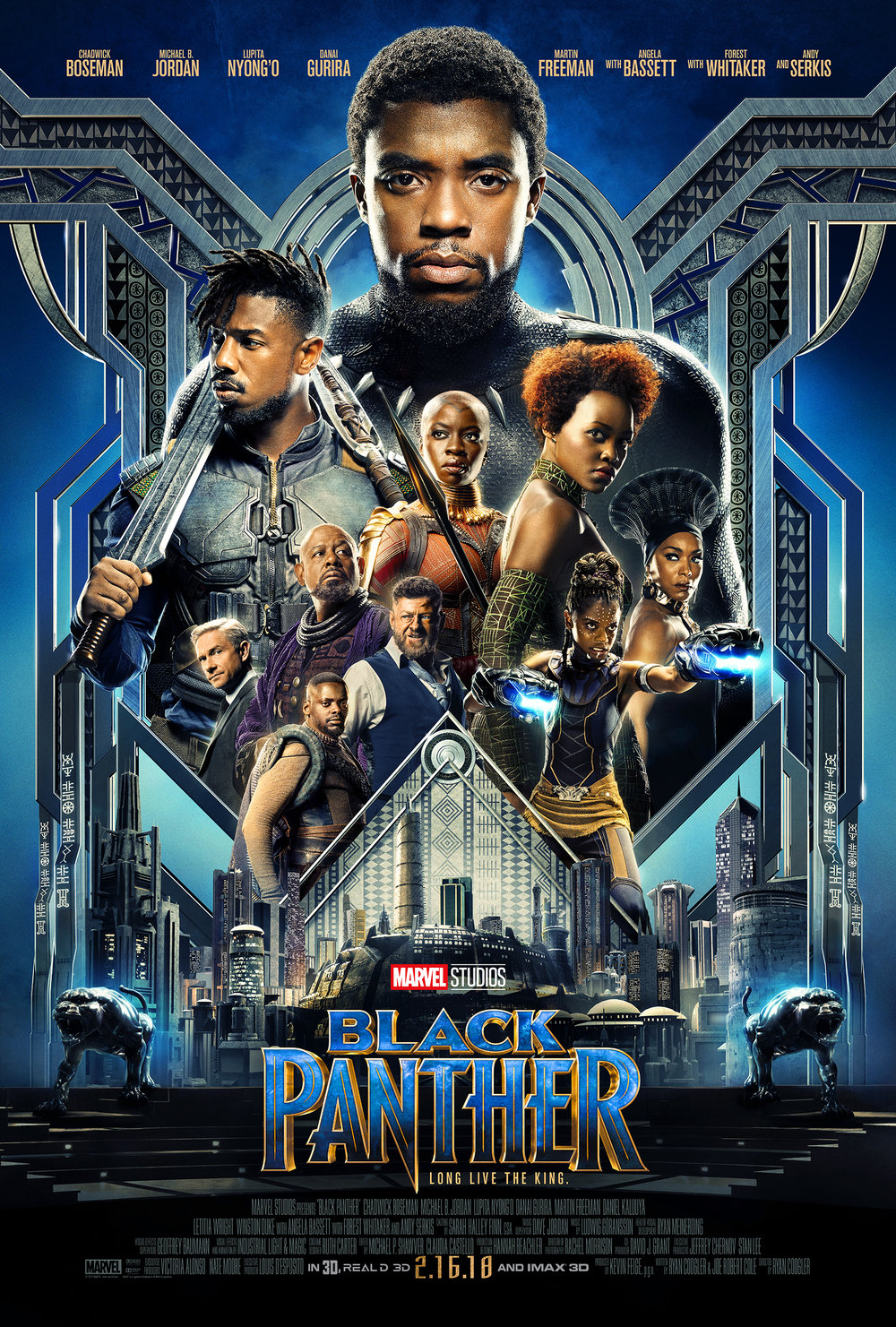 BLACK PANTHER    PG-13   1:10  4:10   7:10   9:45  Superhero  ‧ 2h 5m