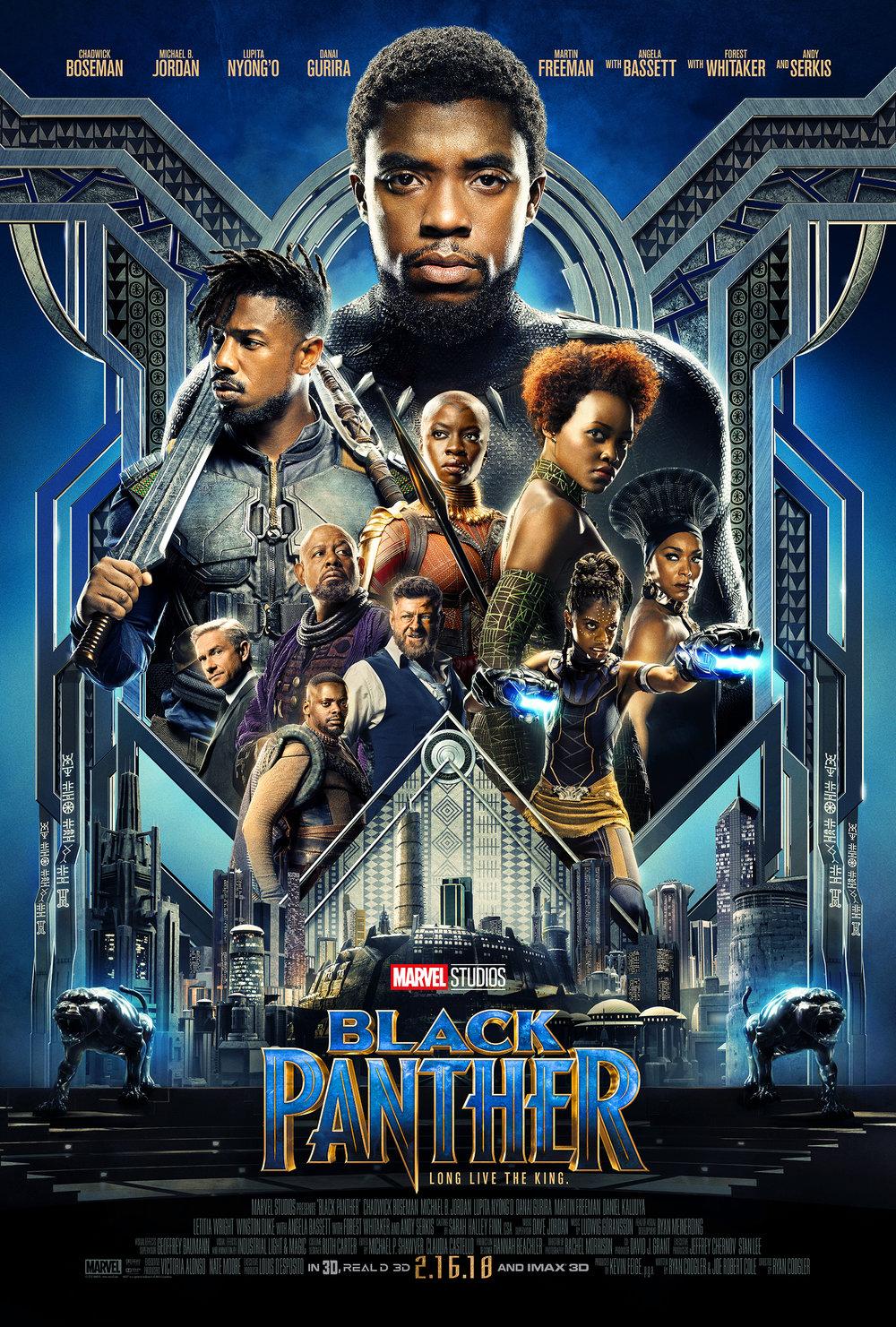 BLACK PANTHER PG-13   1:00 2:00 4:00 5:00 7:00 8:00 9:45  Superhero ‧ 2h 5m