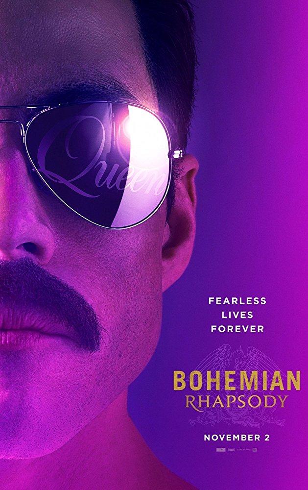 BOHEMIAN RHAPSODY (PG-13)  1:10 4:10 7:00   9:50  Musical / Biopic - 2h 15m