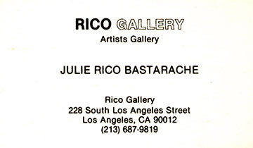 The 1st gallery effort 1989 in downtown L.A. Jean installed the shows and created some of his first paintings at this location a 12,000 sq. ft. space. It was .10cents a square foot.