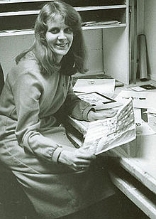 Sally Cruikshank in the 1970's.