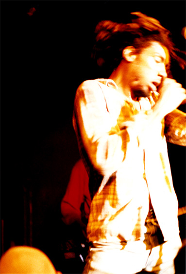 Bad Brains lead singer Detroit, Michigan. Jean loved Punk Shows!