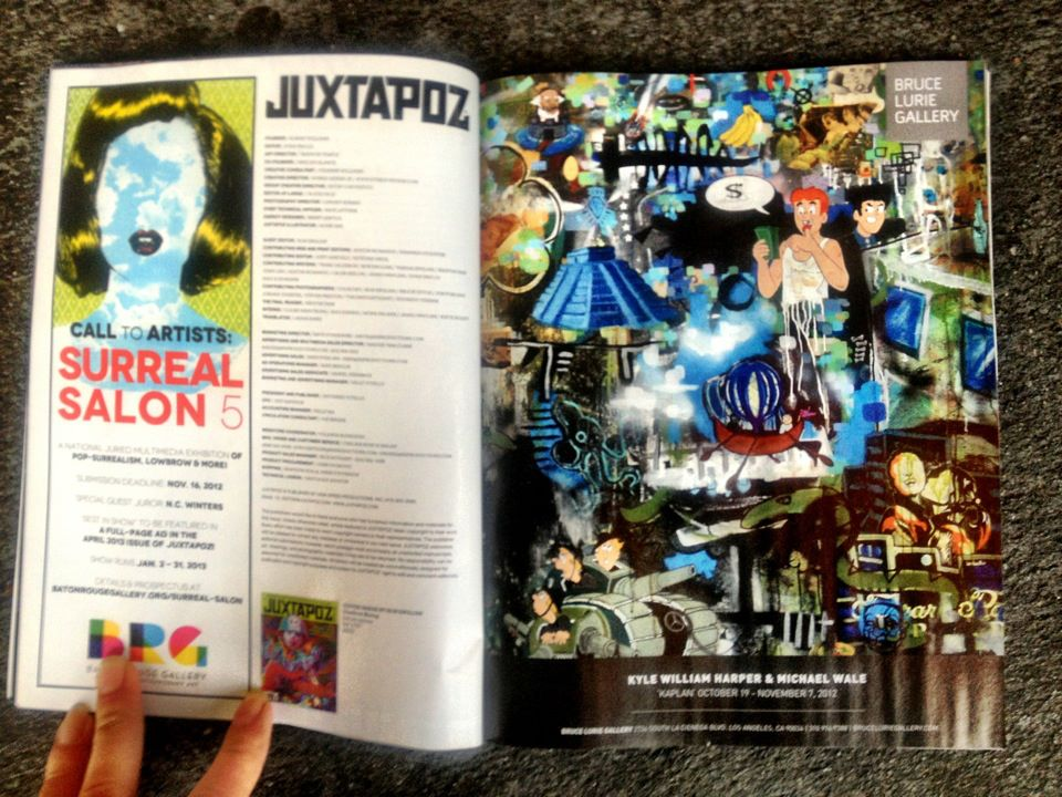 Kyle William Harper in Juxtapoz magazine!